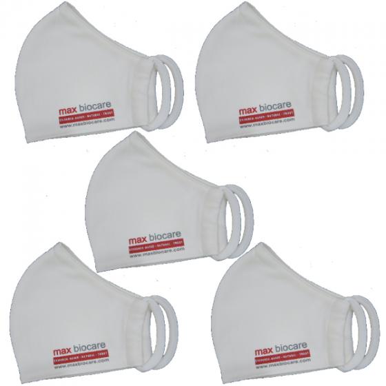 Combo 5 khẩu trang vải kháng khuẩn MBc (Max Biocare)