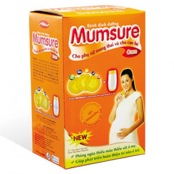 Bánh Mumsure vị cam 165 gram Bibica