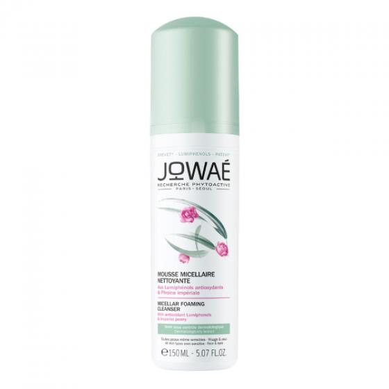 Sữa rửa mặt tạo bọt JOWAE micellar foaming cleanser loại bỏ chất bẩn làm sạch da mỹ phẩm thiên nhiên nhập khẩu pháp 150ml