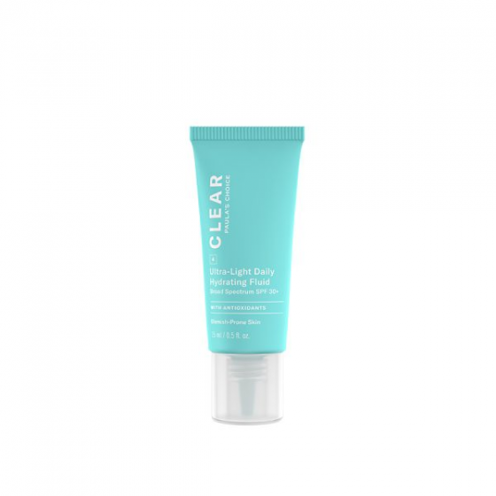 Kem dưỡng da chống nắng dành cho da mụn Paula's Choice Clear Ultra-Light Daily Fluid SPF 30 30ml