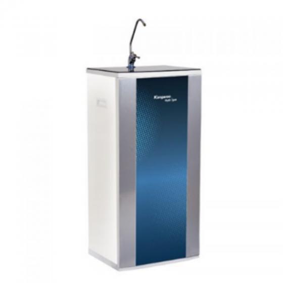 TB lọc nước RO 10 lõi Hydrogen KG100HM vỏ tủ VTU Blue hình chấm