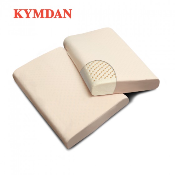 Combo 2 gối  cao su thiên nhiên Kymdan Pillow PressureFree Air 60 x 38 x 8,5 cm