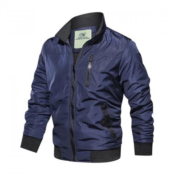 Áo khoác dù nam cao cấp vải dù nhẹ, big size dành cho người béo bụng hiệu dokafashion - DU4M6S