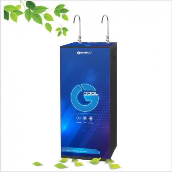 Máy lọc nước R.O Bamboo G-Cool - 2 vòi 3 chế độ (Tặng kèm bộ 3 lõi lọc 1,2,3)