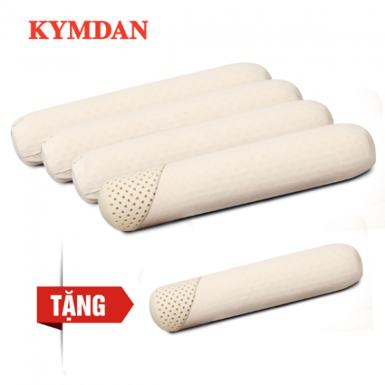 Combo 4 gối ôm KYMDAN SoftTouch cỡ trung (chiều dài 105 cm) - Tặng 1 gối cùng kích thước