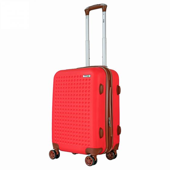 Vali nhựa kéo, du lịch, xách tay Trip P803A size 50cm-20inch đỏ