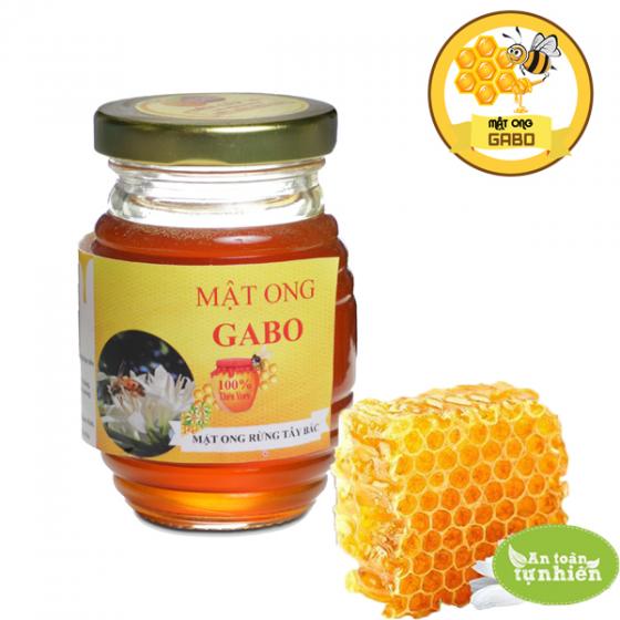 Mật ong thiên nhiên GABO loại hoa rừng tây bắc 200ml