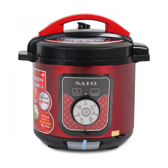 Nồi áp suất đa năng SATO ST-612PC(Đ)