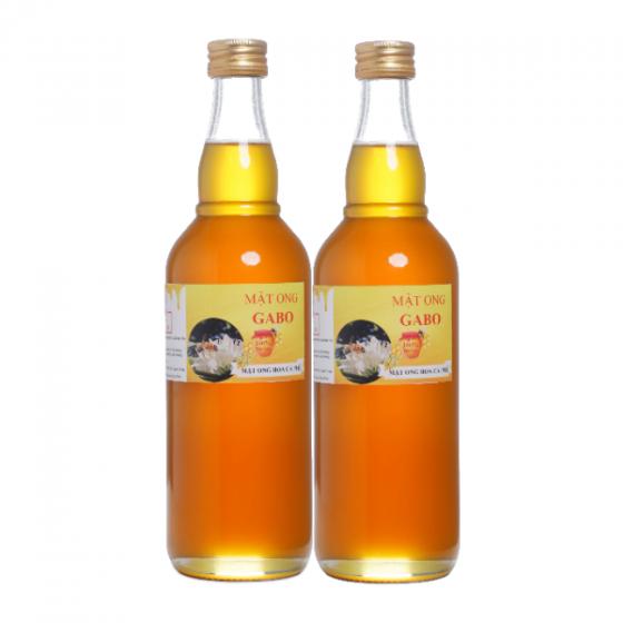 Combo 2 chai mật ong thiên nhiên GABO loại hoa cà phê 500ml