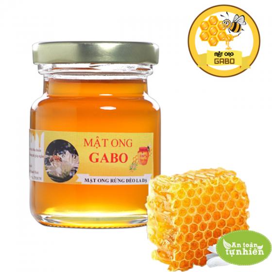 Mật ong thiên nhiên GABO loại hoa rừng đèo la dạ 100ml