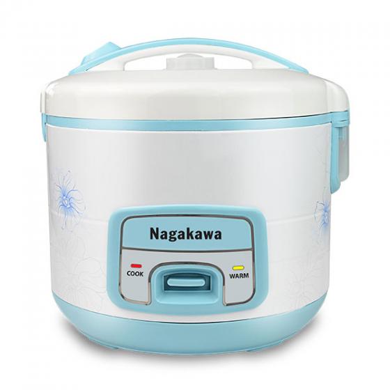 Nồi Cơm Điện Nagakawa NAG0113 1.8 Lít  Xanh  hàng chính hãng