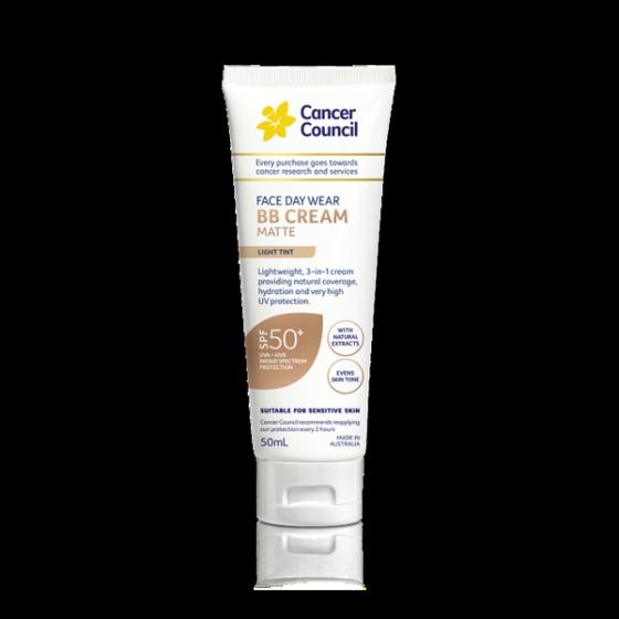 Kem BB - Cancer Council BB Cream 3 in 1 SPF50+ PA++++ 50ml