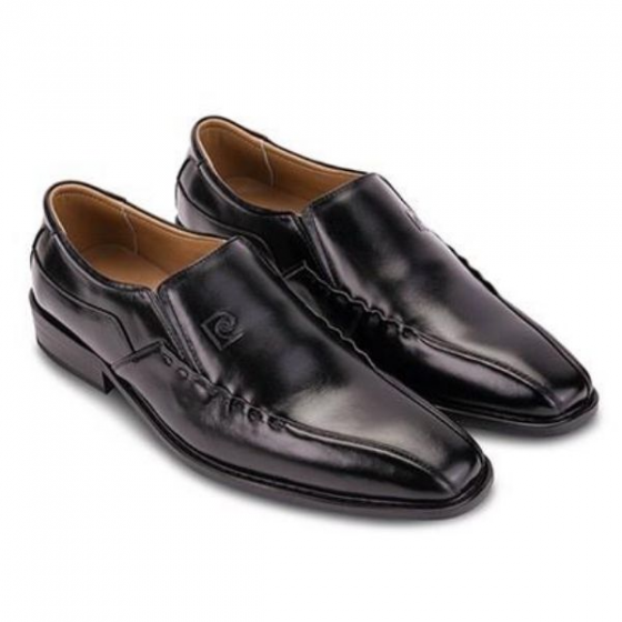 Giày tây nam Pierre Cardin Black Derby Cement PCMFWLE044BLK màu đen