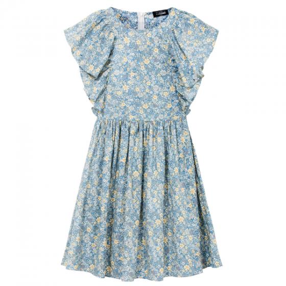 Đầm nữ The Cosmo SOFIA DRESS màu xanh TC2005240BL