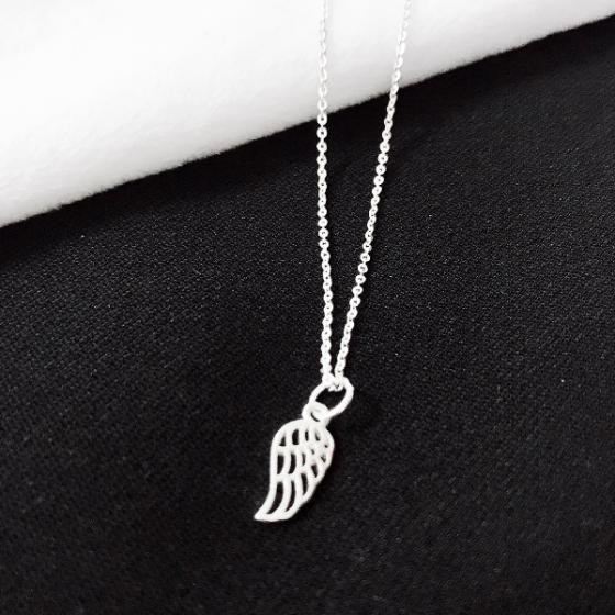 Dây chuyền bạc mặt cánh thiên thần - Ngọc Quý Gemstones