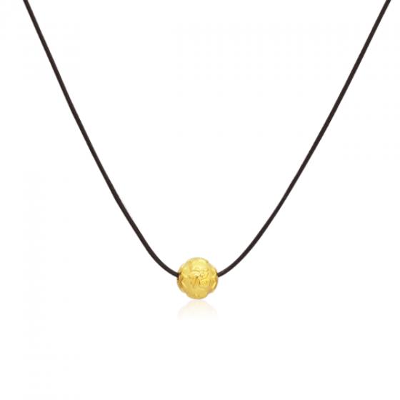 Mặt charm chữ Phúc vàng 24K DOJI CH60025