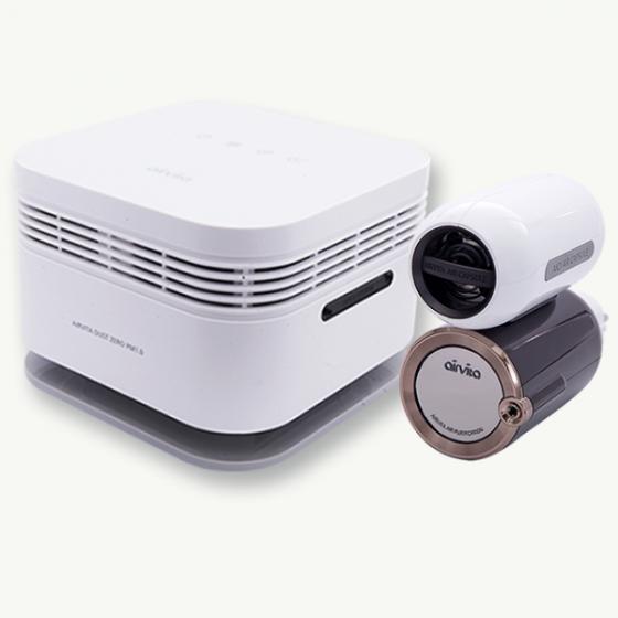 Combo An toàn sức khỏe Airvita Dust Zero PM1.0 và Capsule (Nhập khẩu, bảo hành chính hãng)