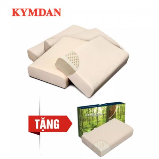 Combo 4 gối cao su thiên nhiên KYMDAN Pillow PressureFree Plus - Tặng 1 gối