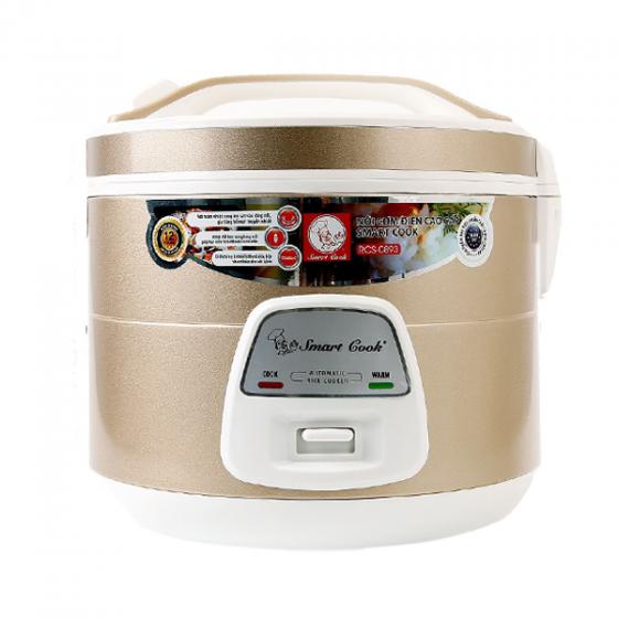 Nồi cơm điện Smart Cook RCS-0893 1.8L- Hàng chính hãng Elmich