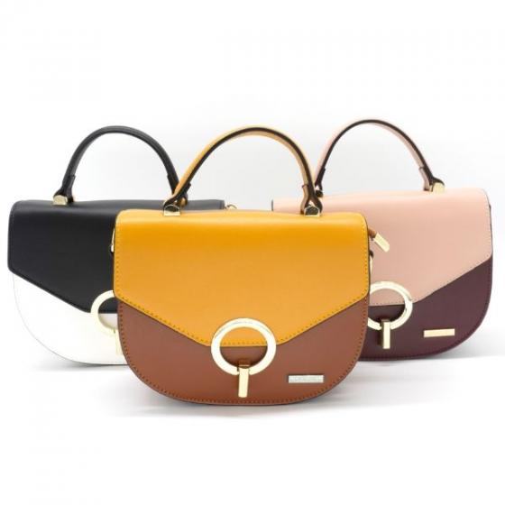 Túi xách nữ thương hiệu Oscar OCWHBLD030WHT màu trắng