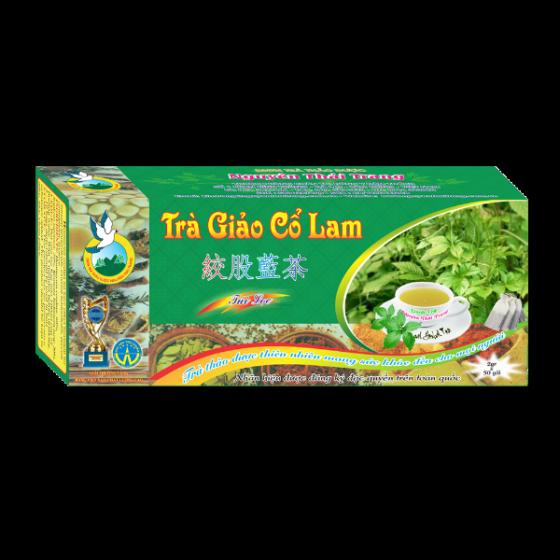 Trà giảo cổ lam trị tiểu đường, giảm béo -hộp 50 túi lọc x 2g-Nguyên Thái Trang – thảo dược thiên nhiên