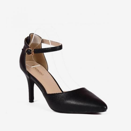 Giày Sandal 7cm mũi nhọn Vasmono 113