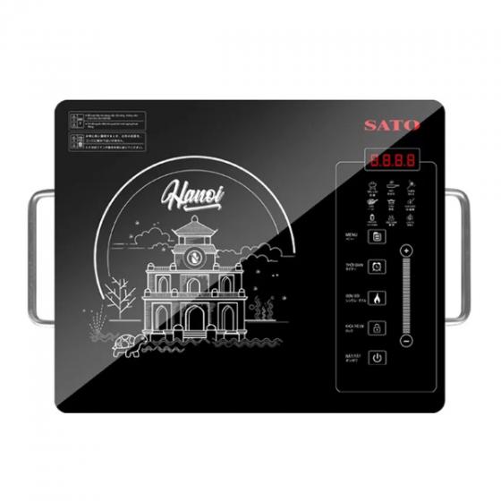 Bếp hồng ngoại SATO HN012I (Tặng nồi lẩu inox)