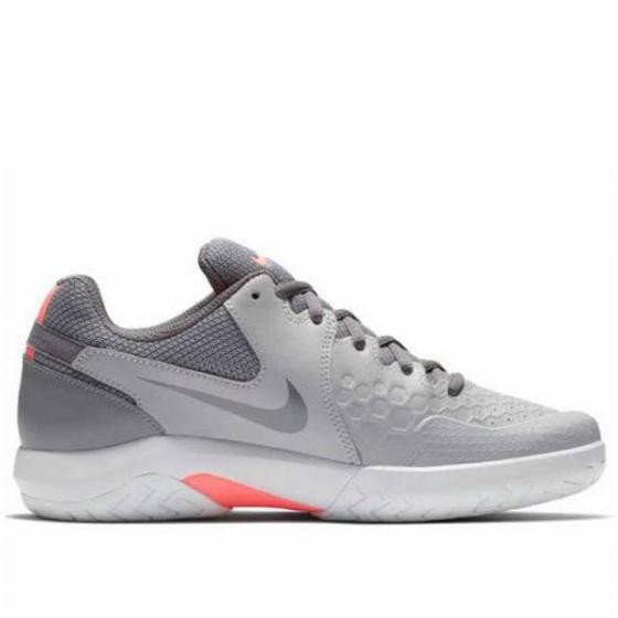 Giày quần vợt nữ WMNS Nike Air Zoom Resistance màu xám 918201-013