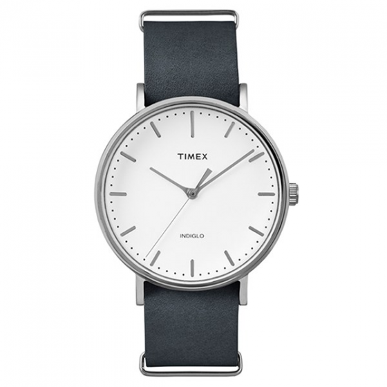 Đồng hồ Unisex Dây Da Timex Weekender Fairfield 41mm - TW2P91300