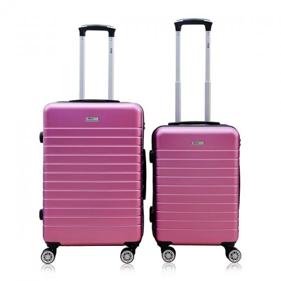 Bộ 2 vali nhựa kéo du lịch size 20 + 24inch Trip PC911