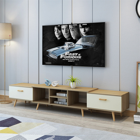 Kệ tivi để sàn tự thay đổi kích thước thương hiệu igea (mẫu lớn) - gp83