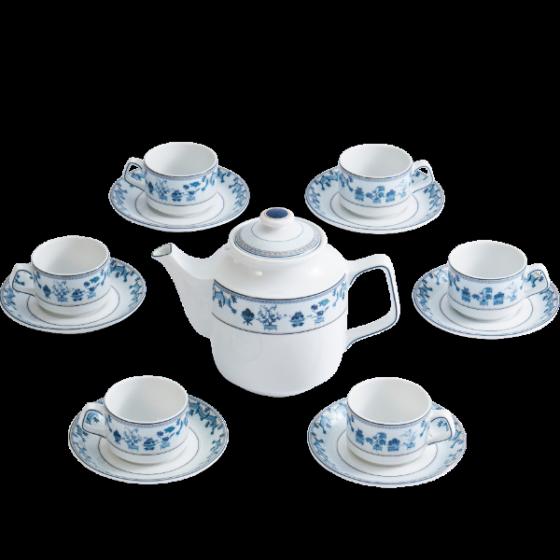 Bộ trà Minh Long 1.1 L Jasmine tứ quý