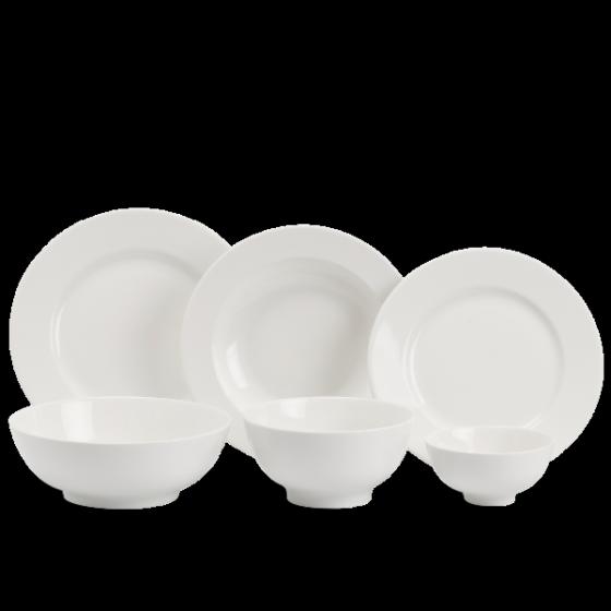 Bộ đồ ăn 14 sản phẩm - Jasmine IFP - trắng ngà