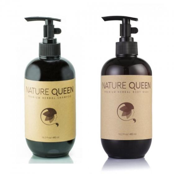 Sữa tắm thảo dược Nature Queen chai 480ml