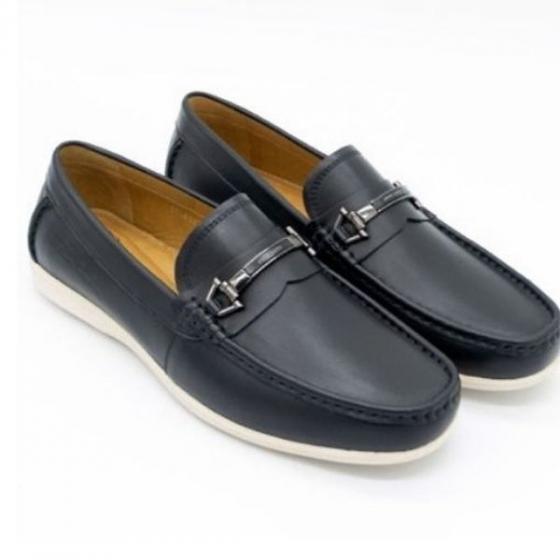 Giày lười da Pierre Cardin - PCMFWLE322BLK màu đen