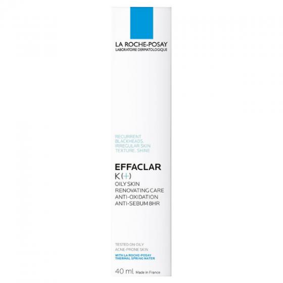 Kem trị mụn đầu đen thu nhỏ chân lông La Roche-Posay Effaclar K+ 40ml