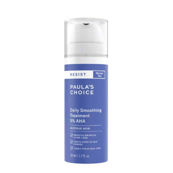Dung dịch điều trị làm mềm da 5 percent AHA Paula-s Choice RESIST Daily Smoothing Treatment  With 50ml