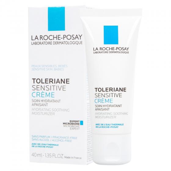 Kem dưỡng ẩm La Roche-Posay Toleriane Sensitive Cream Moisturiser Hydrates, Soothers 40ml