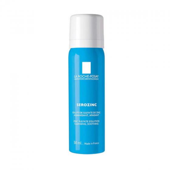 Nước xịt khoáng làm dịu da, giảm bóng nhờn cho da dầu mụn La Roche-Posay Serozinc 50ml