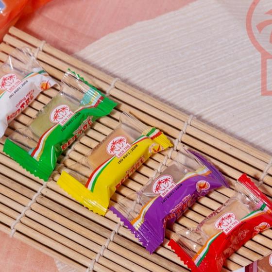 Kẹo Dừa Dẻo hiệu Bà Hai Tỏ Bến Tre - Sáu Vị 500gr
