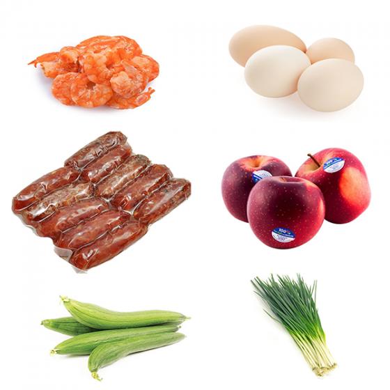 Combo Rau + Trái cây + Thực phẩm GSS5