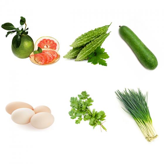 Combo Rau + Trái cây + Thực phẩm GSS03