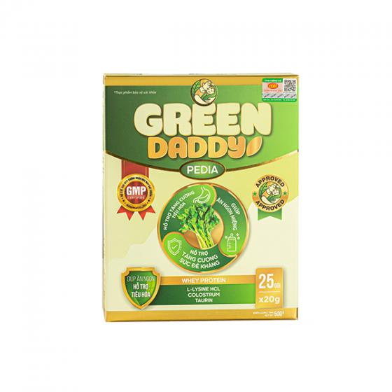 Green Daddy Pedia dành cho trẻ biếng ăn