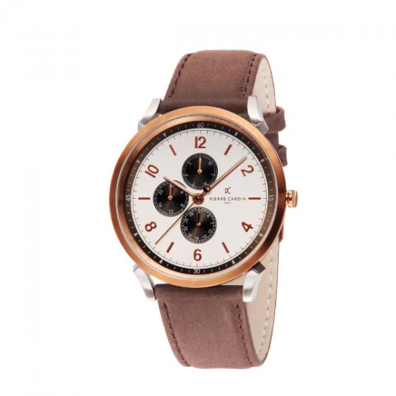 Đồng hồ nam Pierre Cardin chính hãng CPI.2022 bảo hành 2 năm toàn cầu - máy pin thép không gỉ