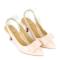 Giày bít mũi nhọn đính nơ SUNDAY CG53 - Màu hồng