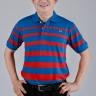 Áo thun nam trung niên sọc 2 màu - UPAR4