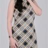 Đầm nữ trung niên ôm họa tiết sọc lạ mắt - UPAR24