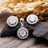 Bộ trang sức bạc Vivi Circle - Eropi Jewelry