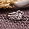 Nhẫn bạc Rebecca Love - Eropi Jewelry