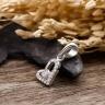Mặt dây chuyền bạc Jenna Love - Eropi Jewelry